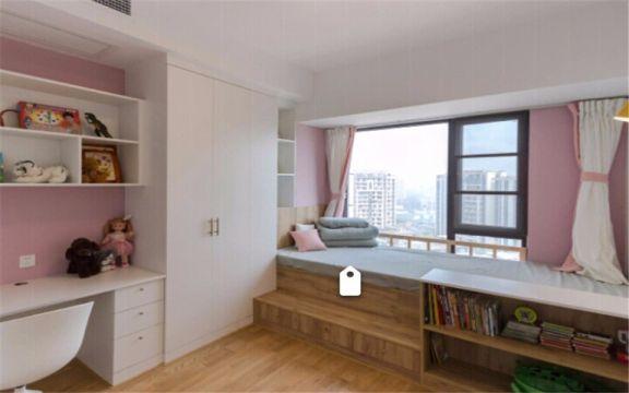 简单儿童房榻榻米露台装饰设计
