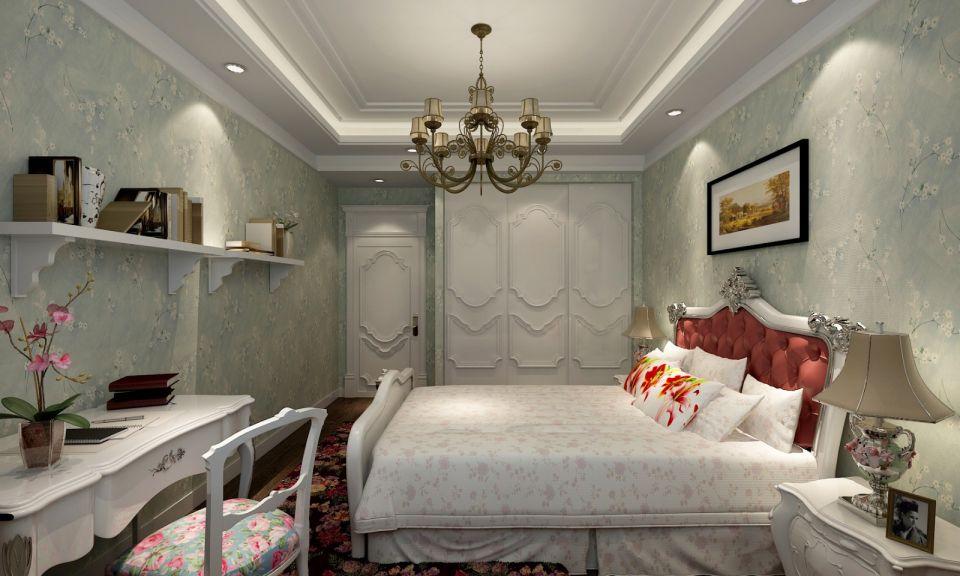 卧室白色衣柜田园U乐国际优乐娱乐官网欢迎您