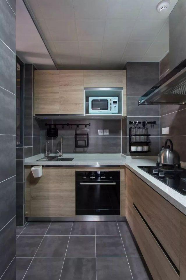 2018开放厨房装修图片,让烹饪不再是一个人的事