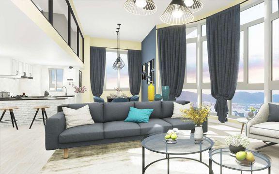 2020后现代60平米以下装修效果图大全 2020后现代一居室装饰设计