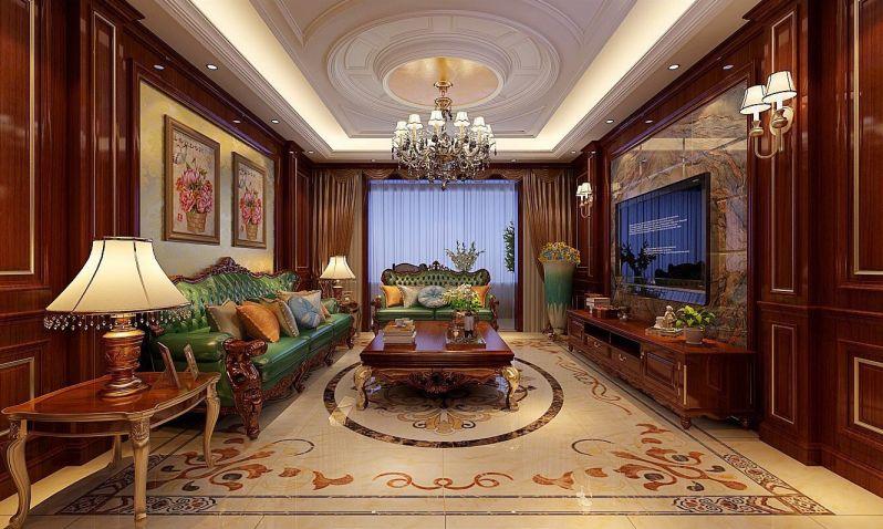 291平欧式风格套房装修效果图