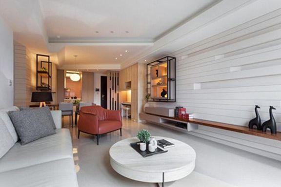 79平北欧风格两室一厅装修效果图