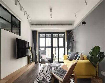 客廳吊頂北歐風格裝飾圖片