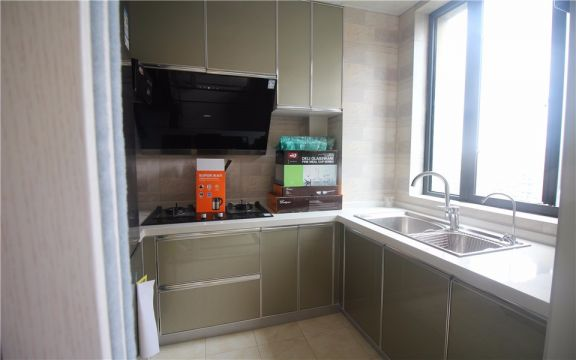 廚房櫥柜美式風格裝飾圖片