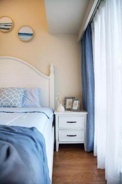 臥室窗簾美式風格效果圖