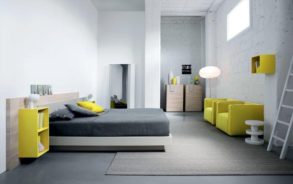 臥室背景墻現代風格裝修設計圖片