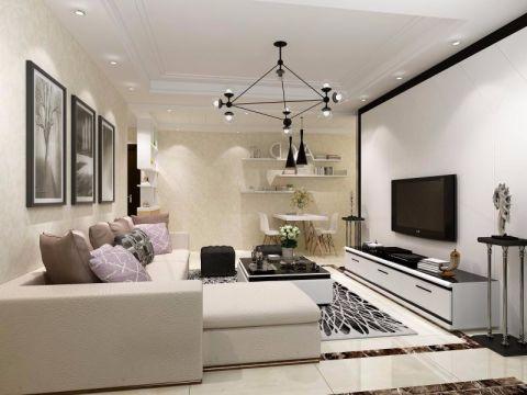 客廳吊頂現代簡約風格裝修圖片