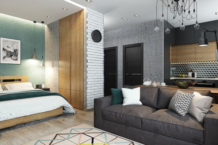 臥室背景墻現代風格效果圖