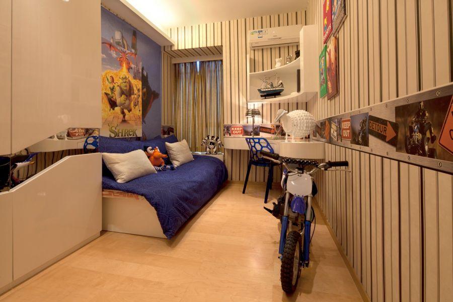 兒童房地磚現代風格裝修效果圖