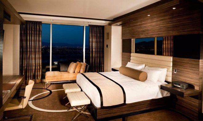 臥室背景墻新中式風格裝潢圖片