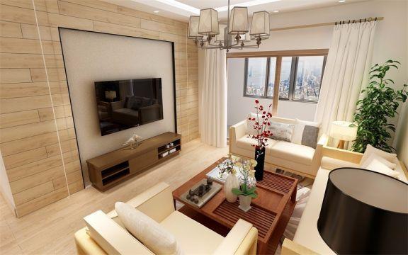 118平日式風格三居室裝修效果圖