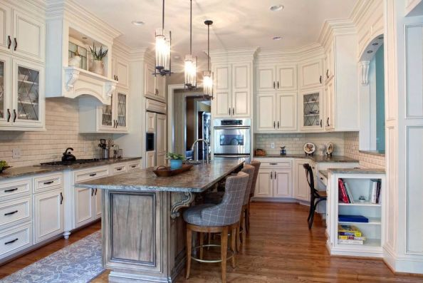 廚房吊頂歐式風格裝修圖片