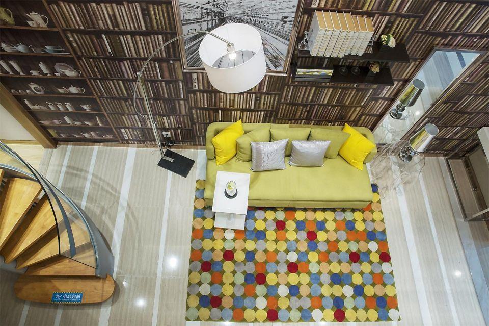 134平現代風格兩居室裝修效果圖