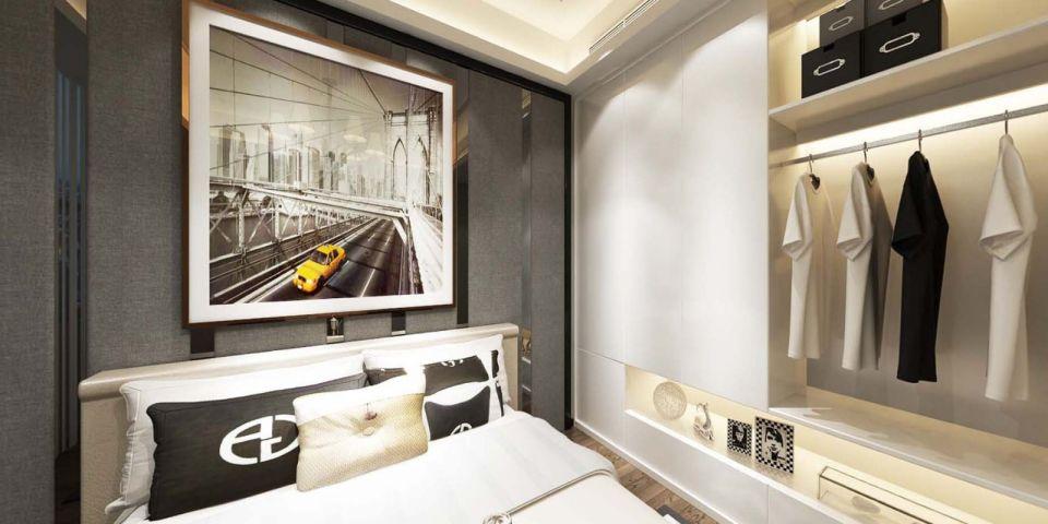 臥室衣柜現代風格裝飾圖片