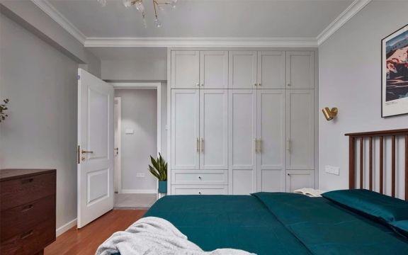 臥室衣柜北歐風格裝修設計圖片