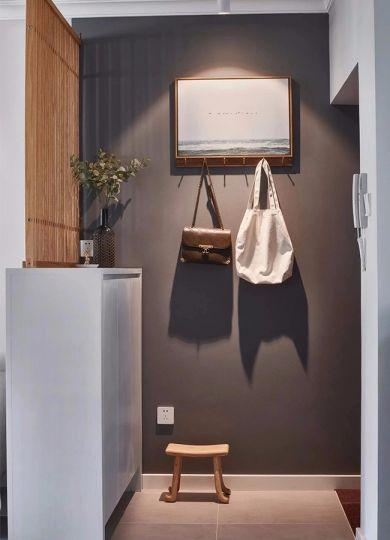 玄關背景墻北歐風格裝潢效果圖