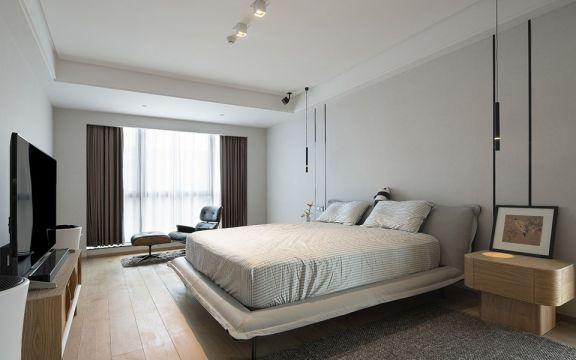 臥室背景墻北歐風格效果圖