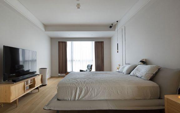 臥室床北歐風格裝修效果圖