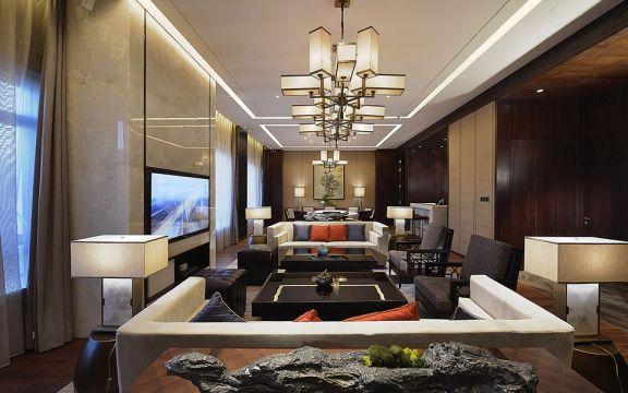 3000平新中式风格酒店装修效果图