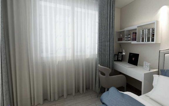 2020美式110平米装修设计 2020美式二居室装修设计