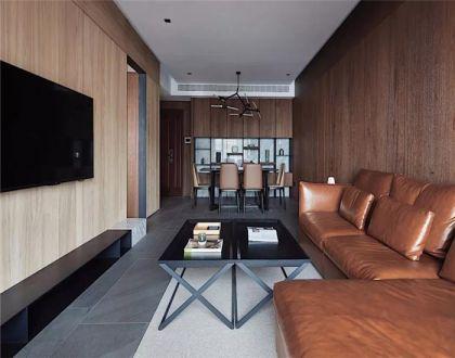 客厅咖啡色沙发现代U乐国际u乐娱乐平台优乐娱乐官网欢迎您