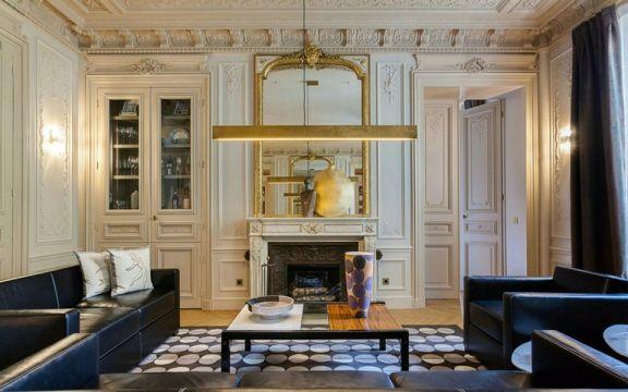 80平古典風格兩居室裝修效果圖