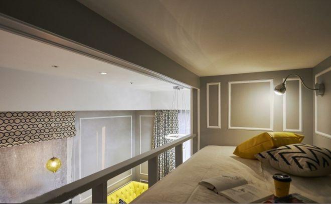 臥室白色吊頂新古典風格裝潢圖片