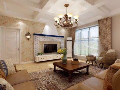 137平現代風格三居室裝修效果圖