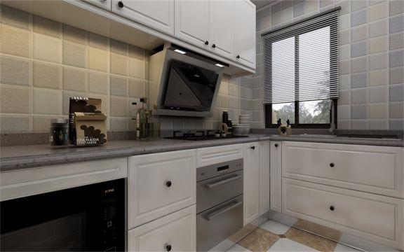 摩登厨房整体橱柜装饰设计