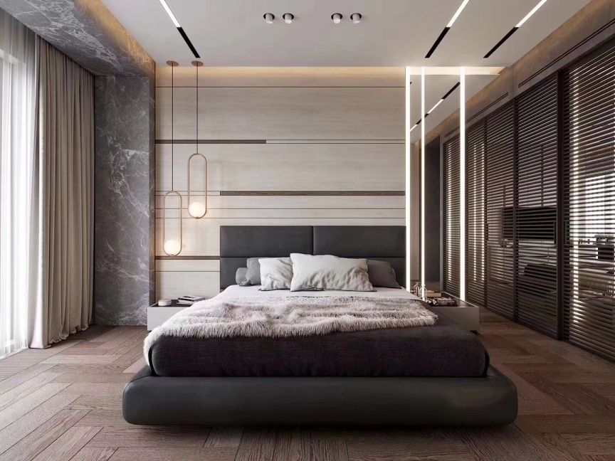 2019简约70平米设计图片 2019简约一居室装饰设计