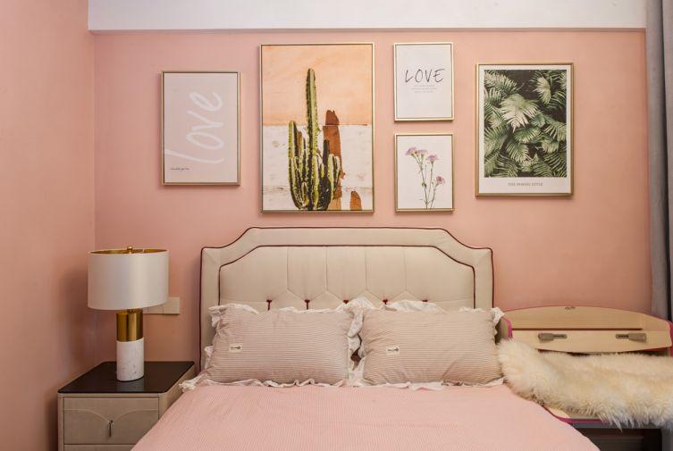 质朴女生卧室装饰图