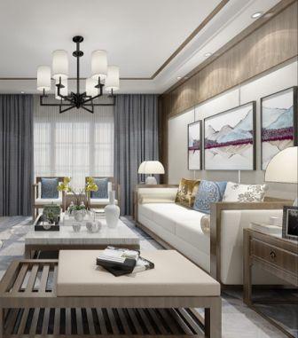 精美绝伦客厅新中式装潢实景图片