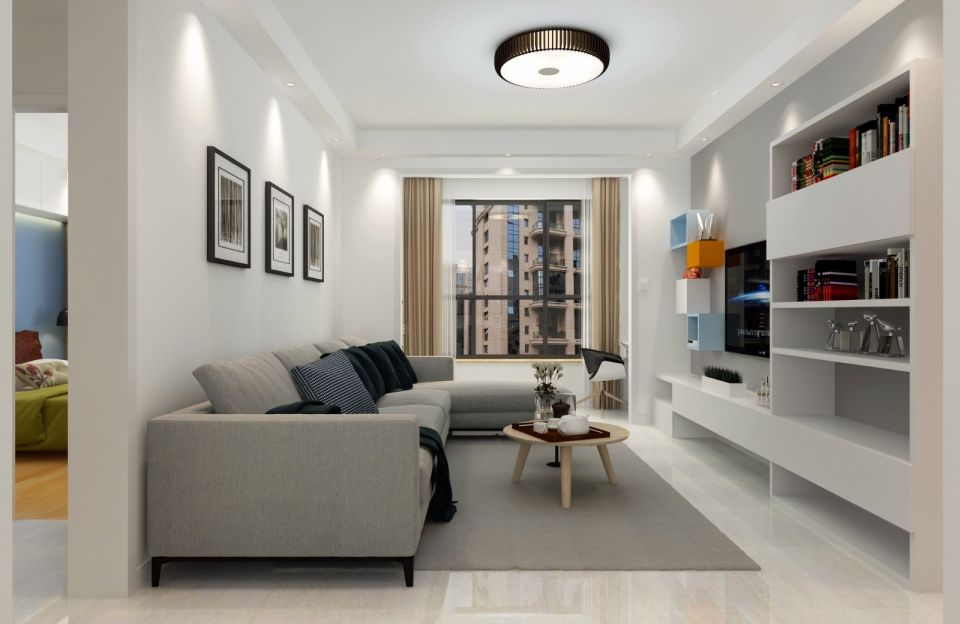 2018简约70平米设计图片 2018简约二居室装修设计