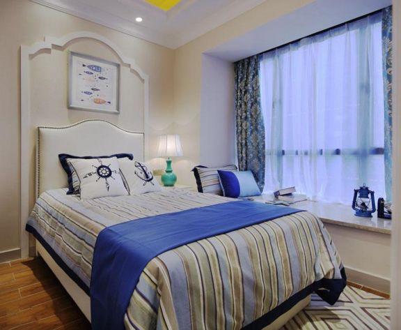 卧室床地中海u乐娱乐平台设计