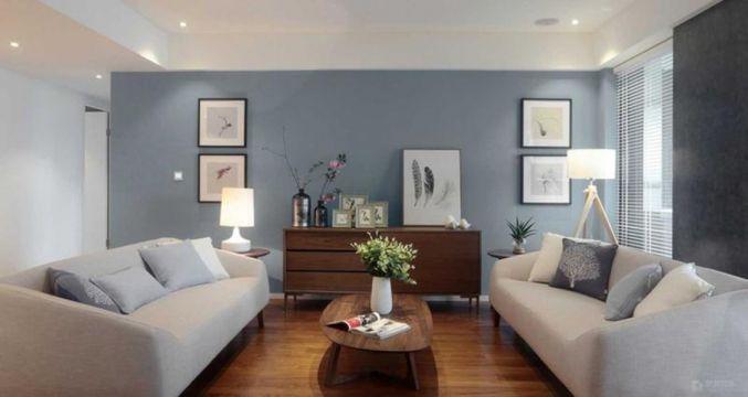 89平混搭风格三居室装修效果图