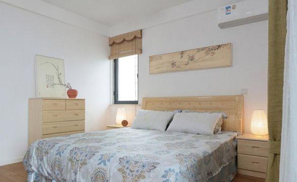 设计精巧卧室日式室内效果图
