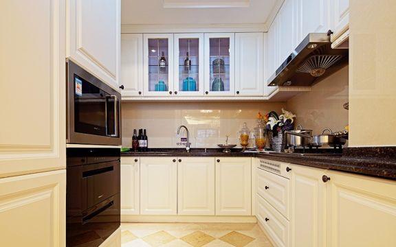 厨房橱柜欧式U乐国际装饰图片