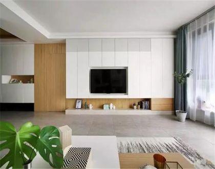 客厅地砖北欧风格装修图片