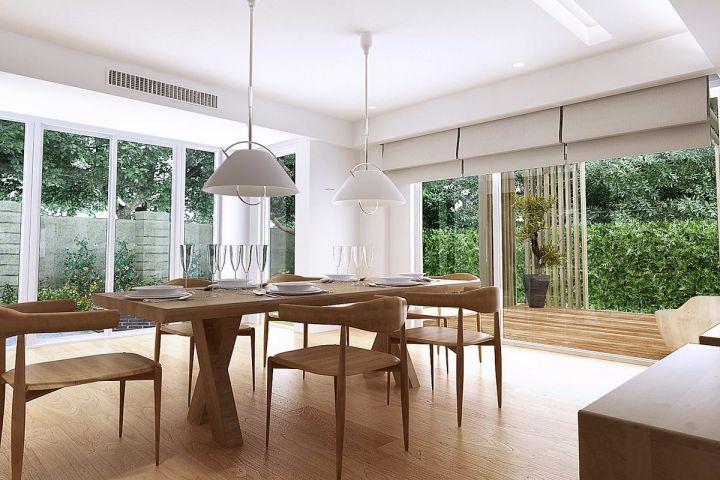 简约餐厅餐桌设计方案