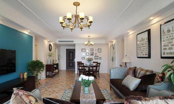 朴素温馨客厅室内装修图片