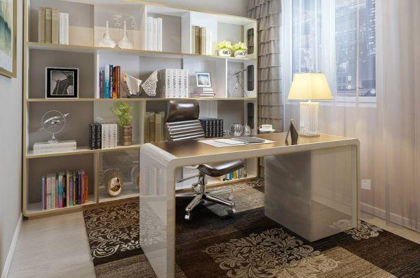 质感书房现代装修图
