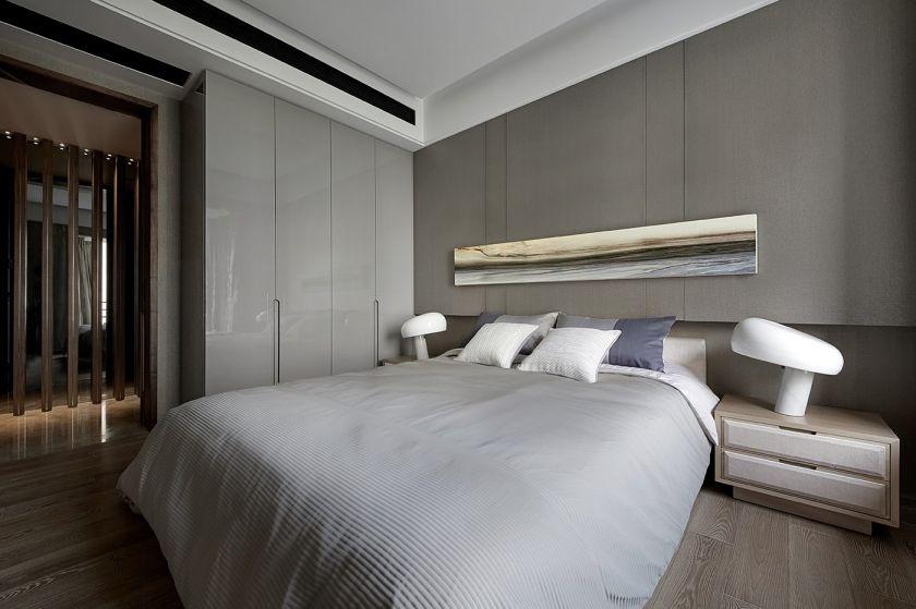 简约卧室背景墙设计