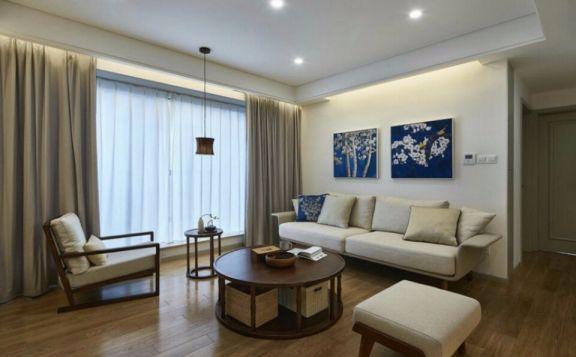 客厅沙发现代简约装修设计