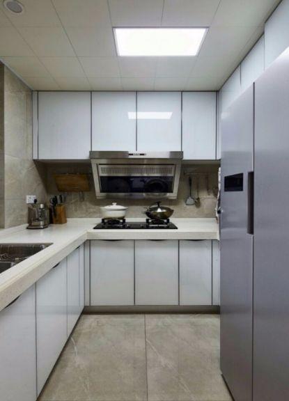 独具一格厨房装修效果图