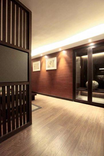 玄关走廊简约装修案例效果图