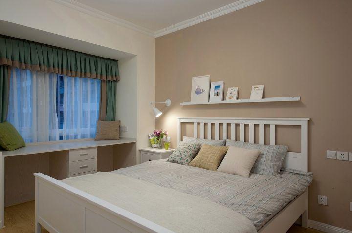 精品白色卧室案例图