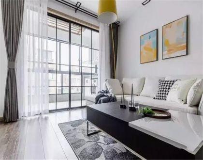风雅客厅窗帘装修设计