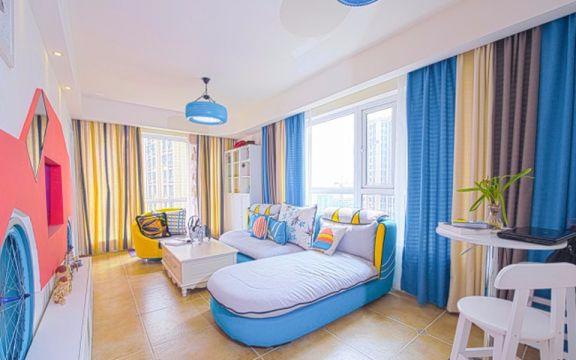 地中海风格客厅沙发效果图图片