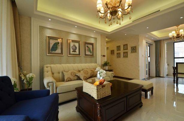 完美米色沙发室内装修图片