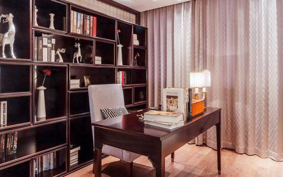 格调书房装修案例图片